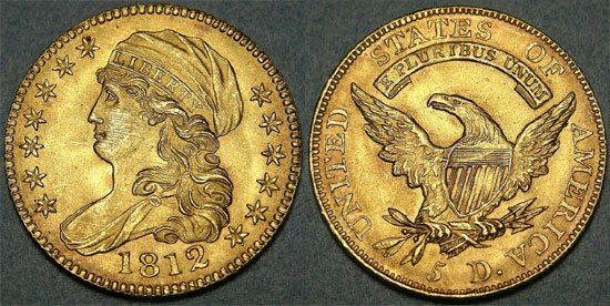Capped Bust Half Eagle
